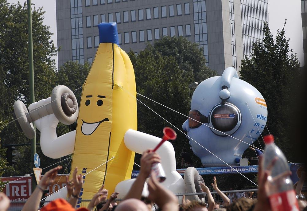 Loveparade in Essen - 25.08.07