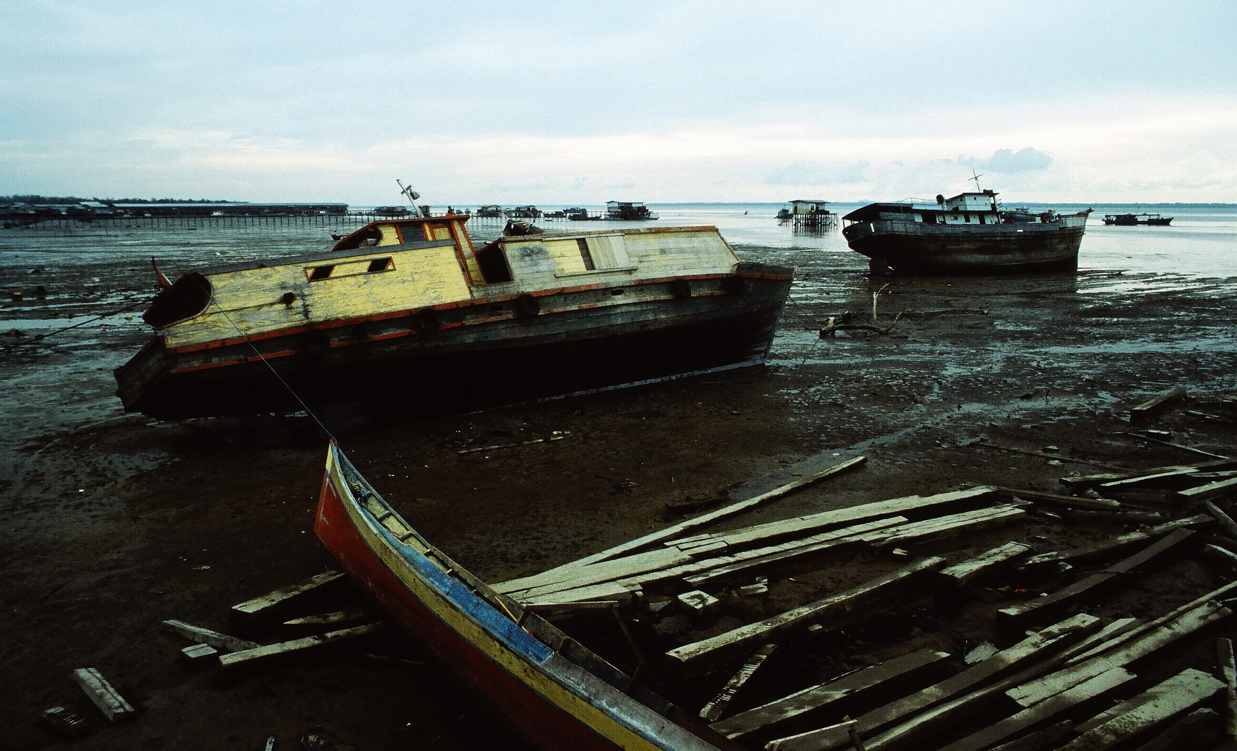 Low Tide in Samarinda