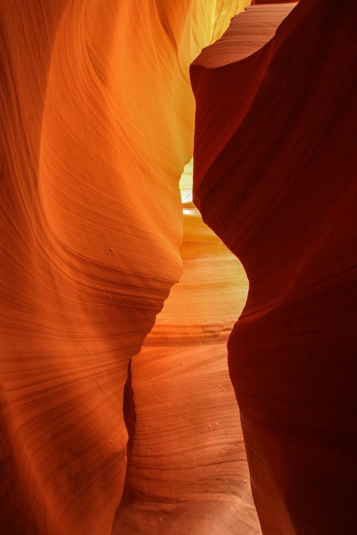 lower Antelope Canyon, 1