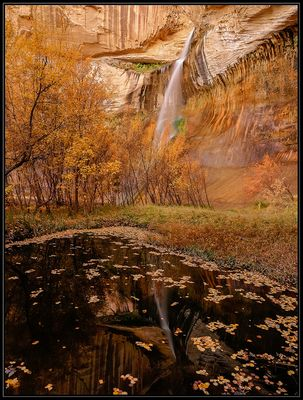 Lower Calf Creek Wasserfall