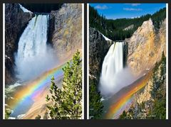 Lower Fall of the Yellowstone ...