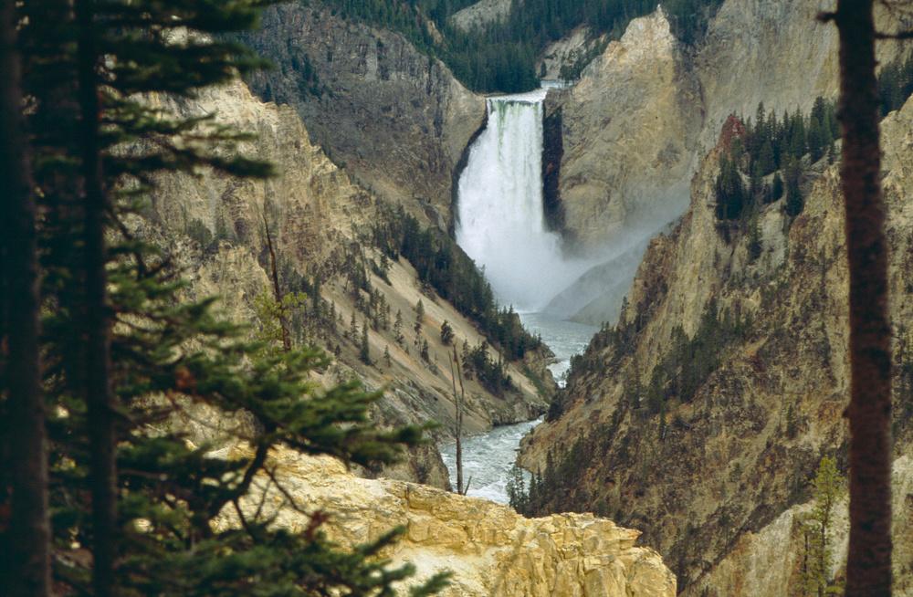 Lower Falls, 1989, Yellowstone NP