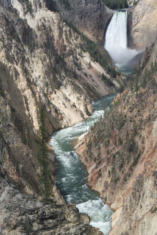 Lower Falls from Artist's Point