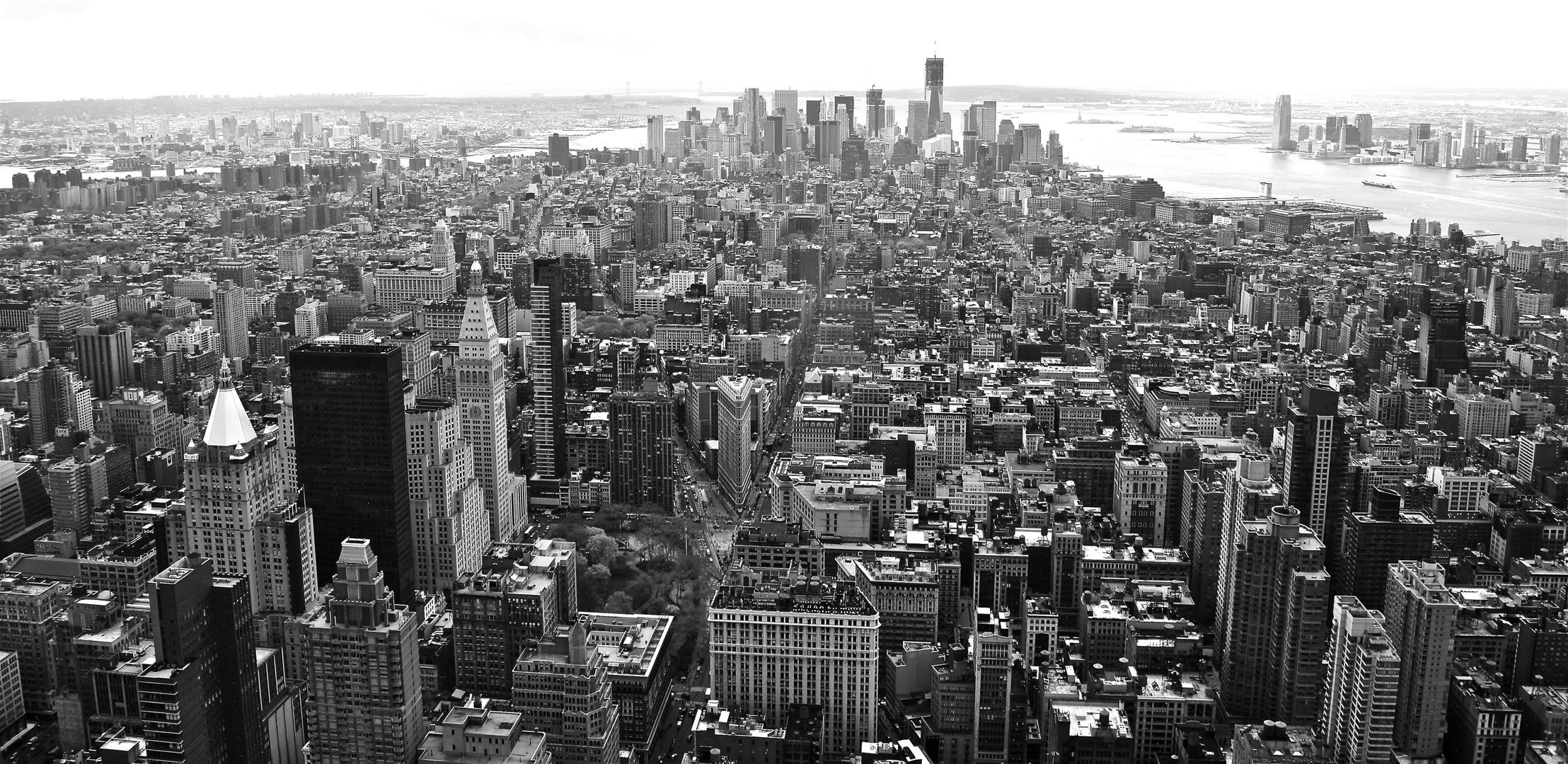 Lower Manhattan | Black and White