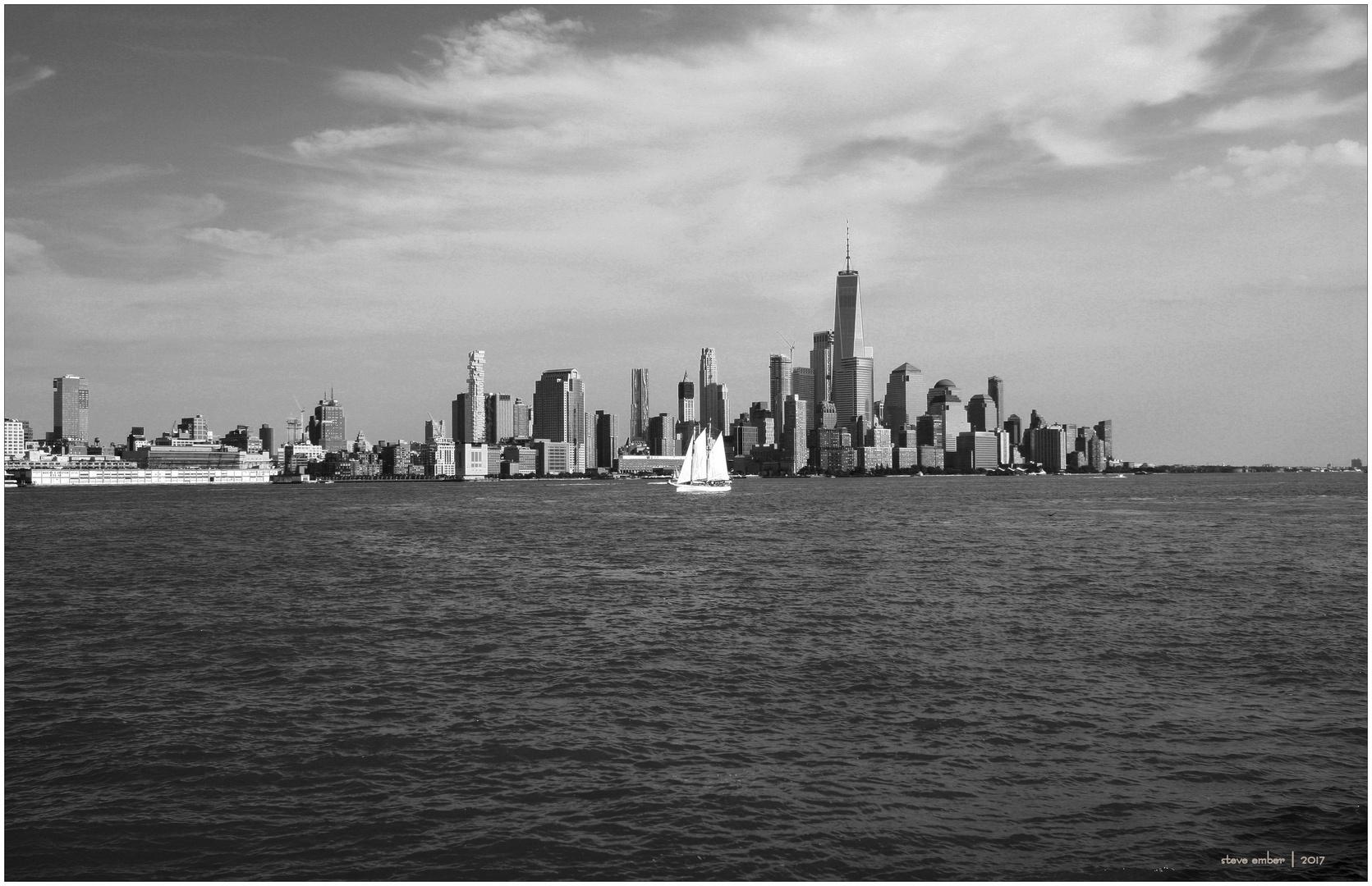 Lower Manhattan Skyline from Hoboken