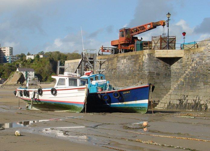 Lowtide, Tenby Harbour, Wales