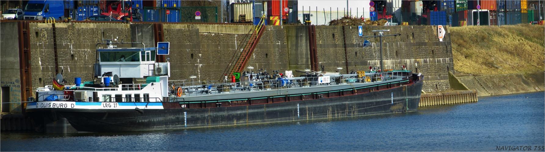 LRG 27 / Tanker / Rheinhafen / Krefeld- Uerdingen