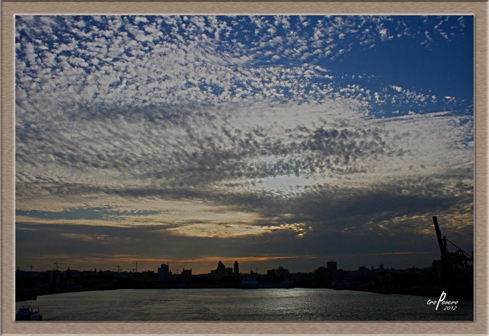 Último cielo de Cádiz