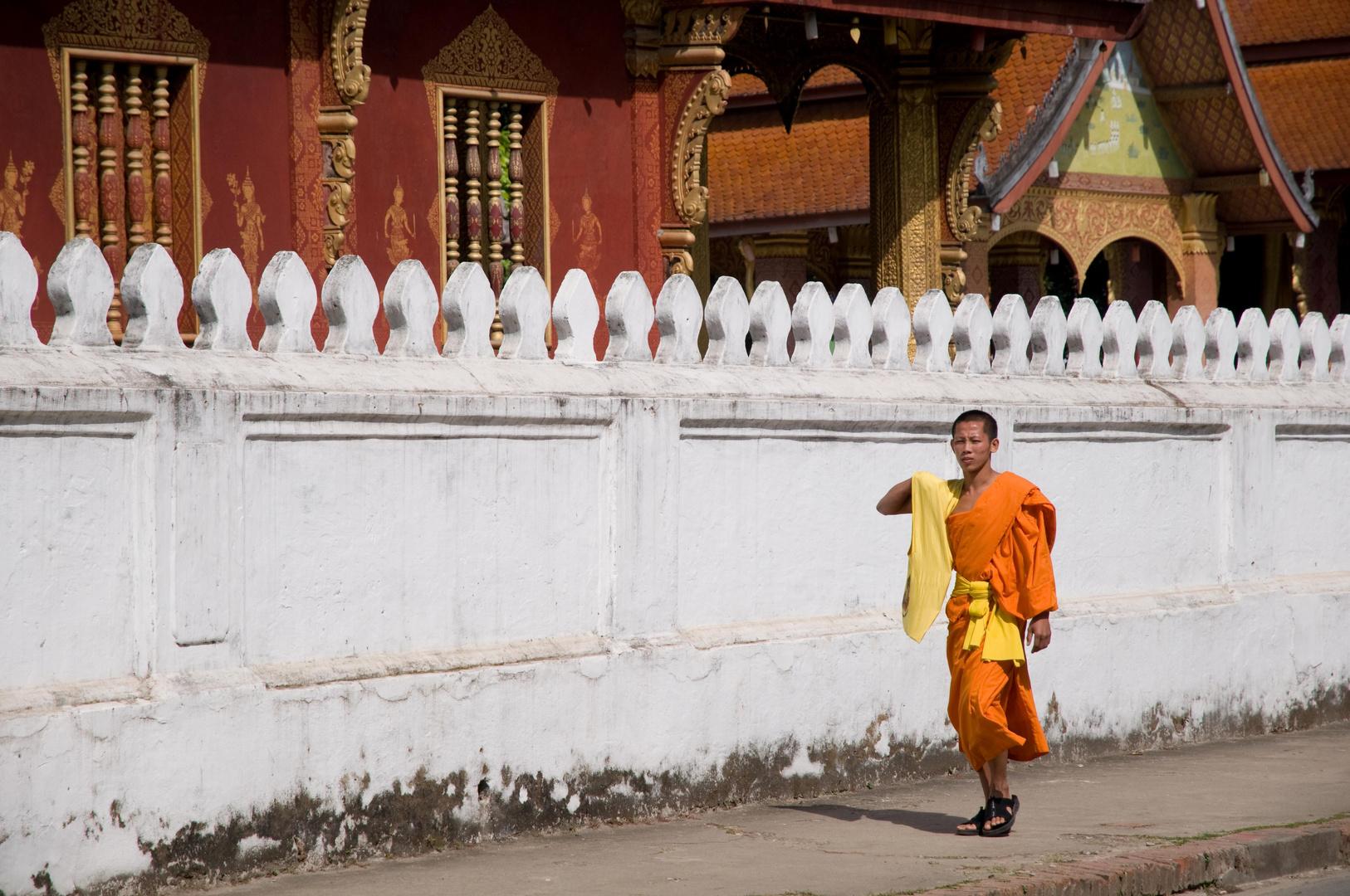 Luang Prabang - die Stadt der tausend Mönche
