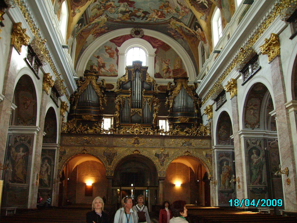 LUBIANA - cattedrale - organo