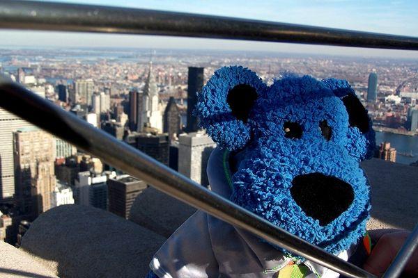 Luc auf dem Empire State Building