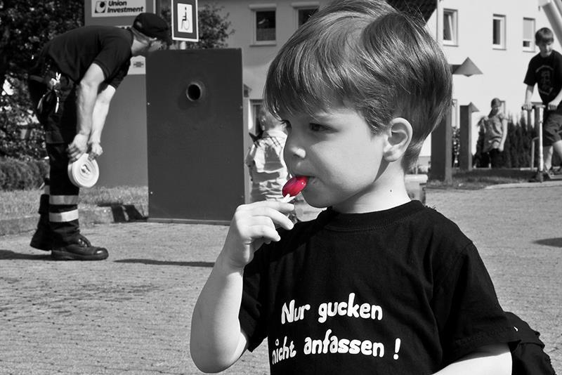 Luca- und der 1. Colourkey-Versuch