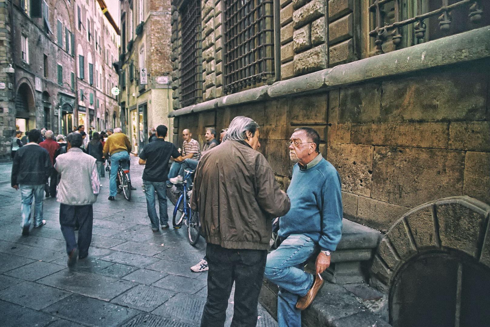 Lucca - An der Via S. Croce