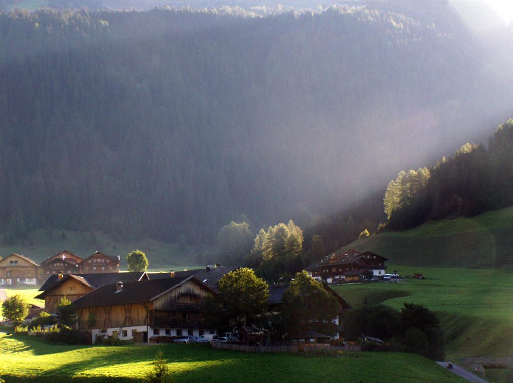 Luce dalla valle
