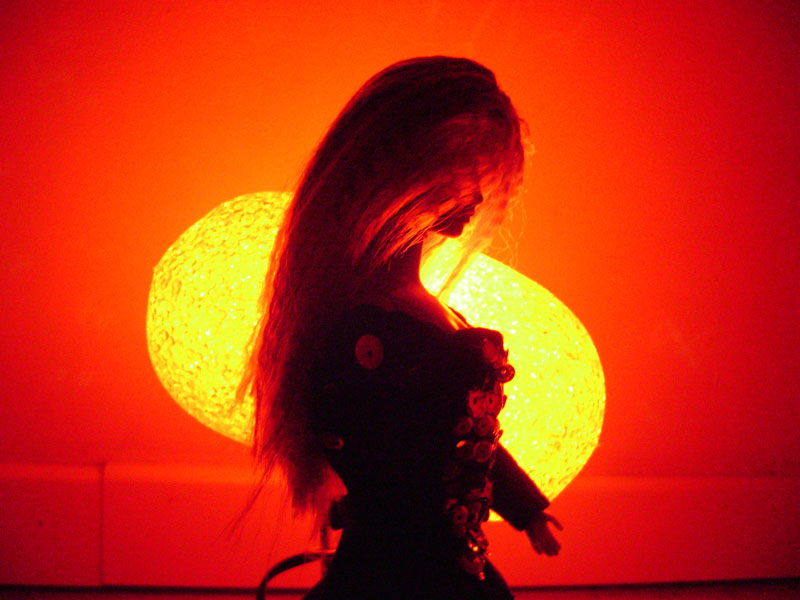 luce di fuoco