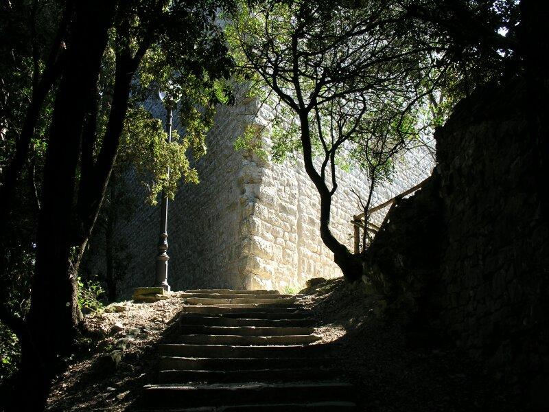 Luce e scalini