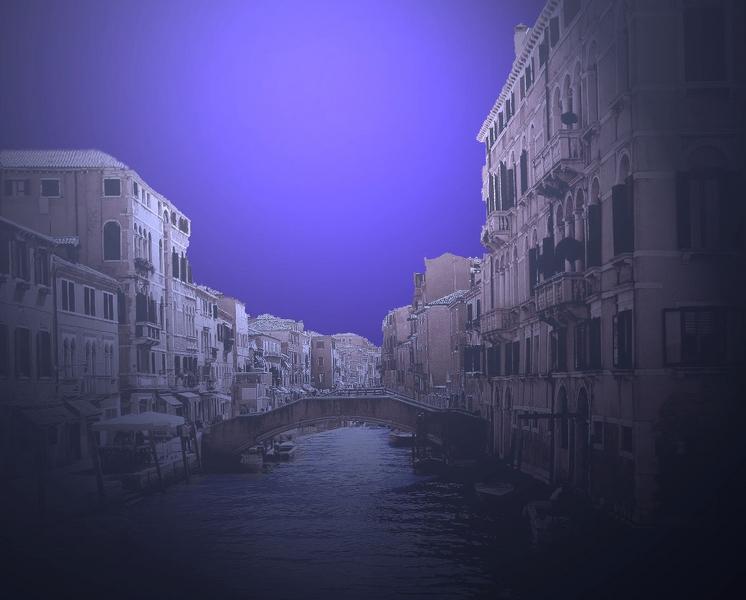 Luce lunare a Venezia