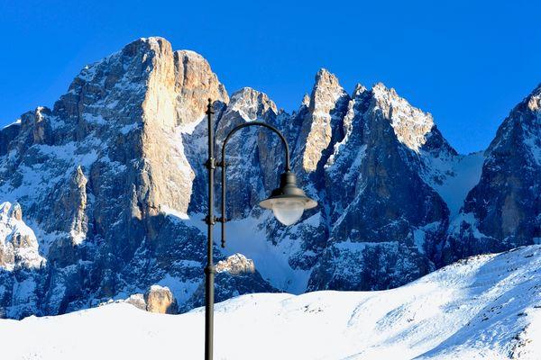 Luce nelle Dolomiti