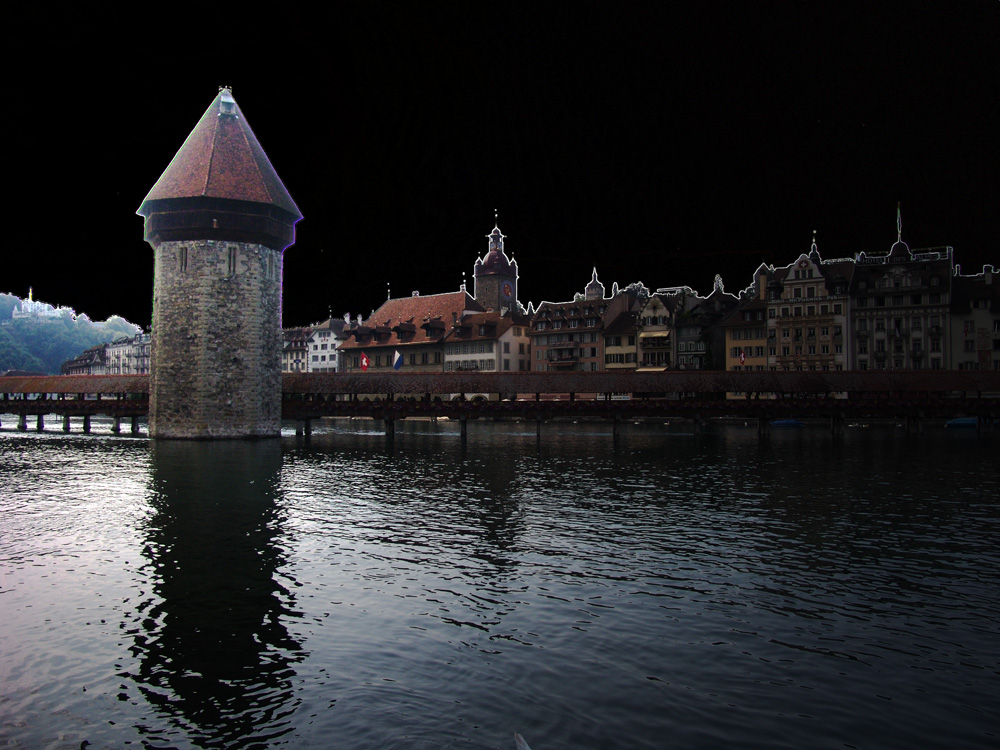 Lucerne by night??