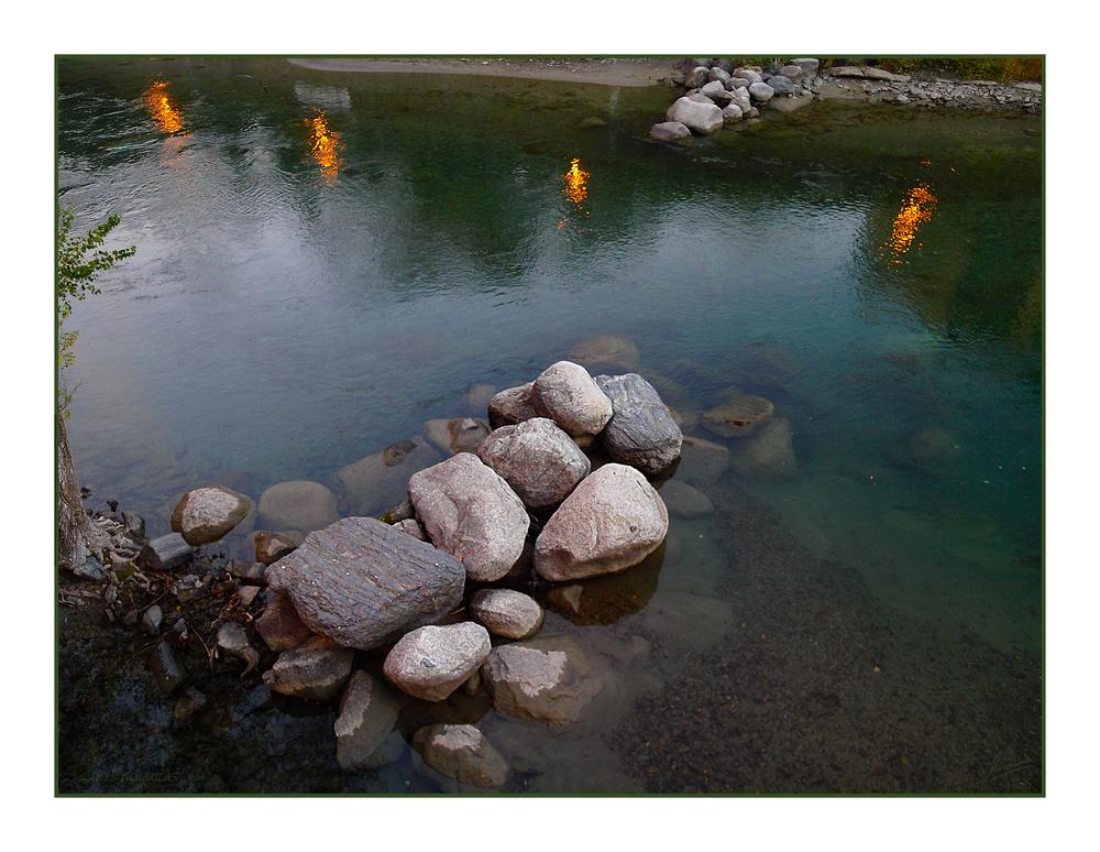 Luces acuáticas