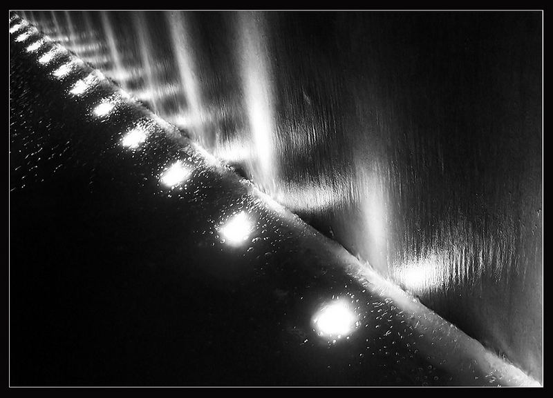 Luces y agua