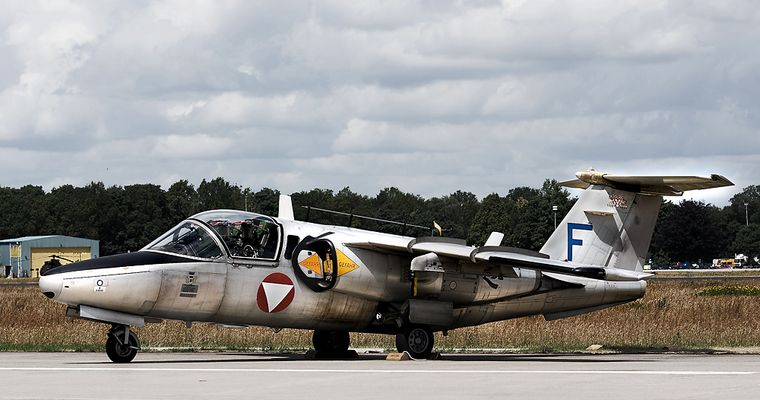Luchtmachtdagen 09: Saab 105 der Österreichischen Luftwaffe