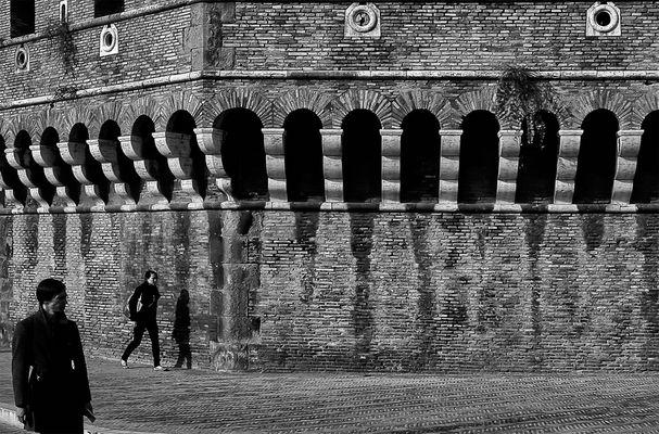 Luci e ombre sotto il Castello