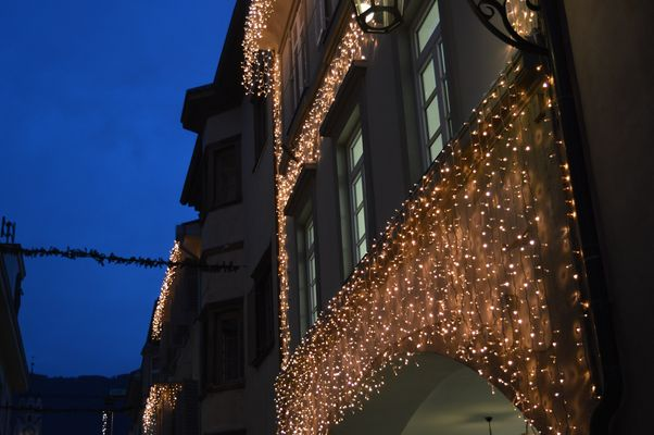 luci natalizie