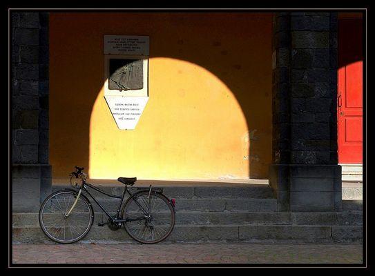 Luci, ombre, colori e...bici
