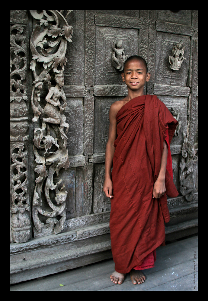. . . lucky young monk . . .