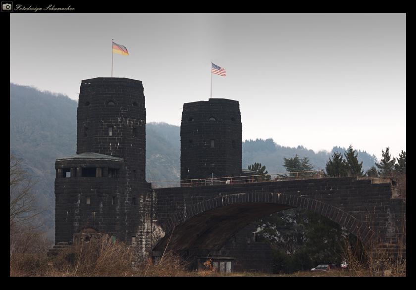 Ludendorffbrücke bei Remagen