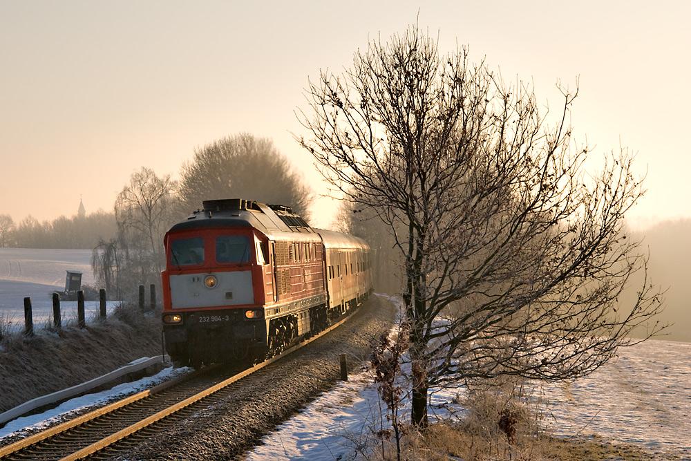 Ludmilla im Personenzugdienst