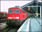 Ludmilla mit Zug aus dem Osten