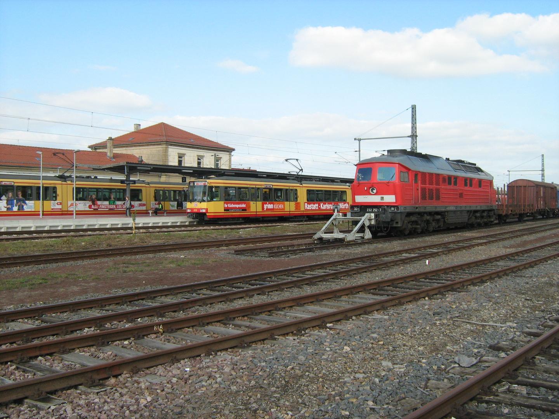 Ludmilla und Stadtbahn der AVG