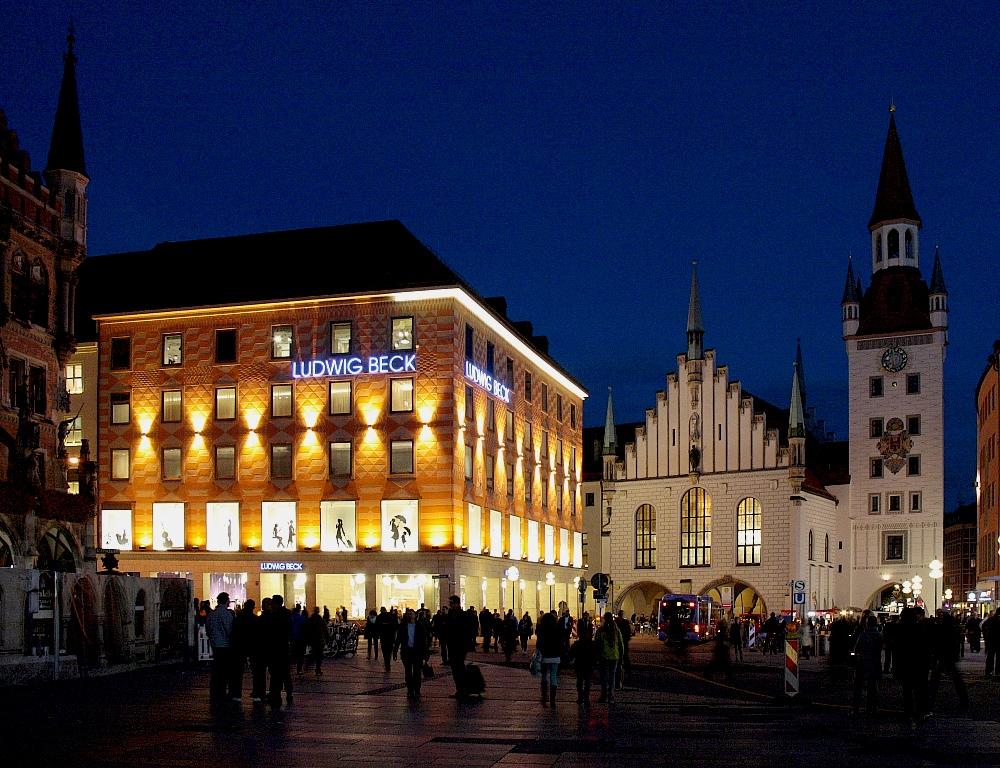 Ludwig Beck und das Alte Rathaus