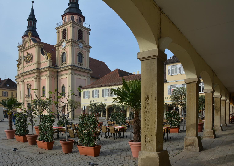 Ludwigsburg am Marktplatz