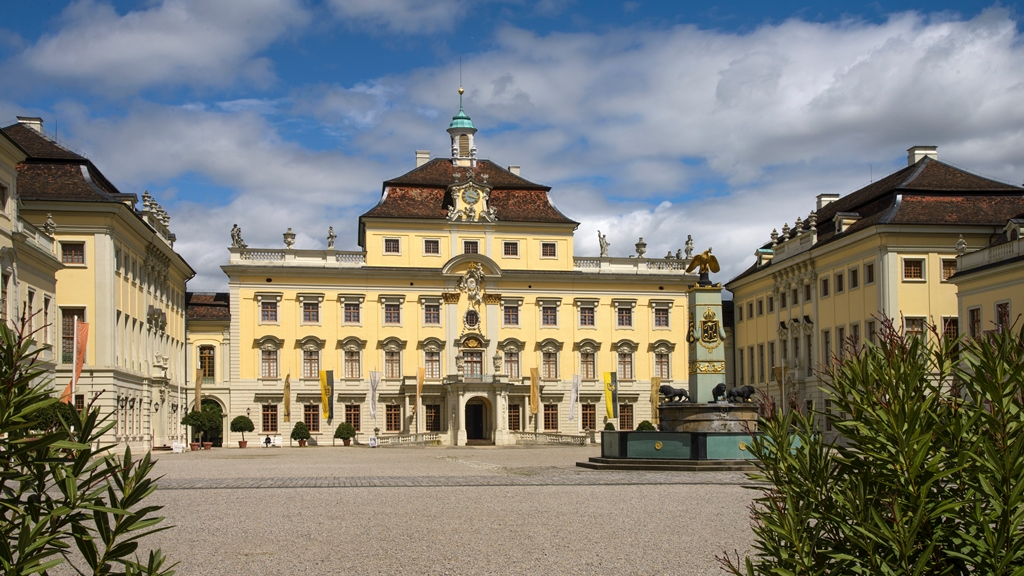Ludwigsburger Schloß, Seitenfügel