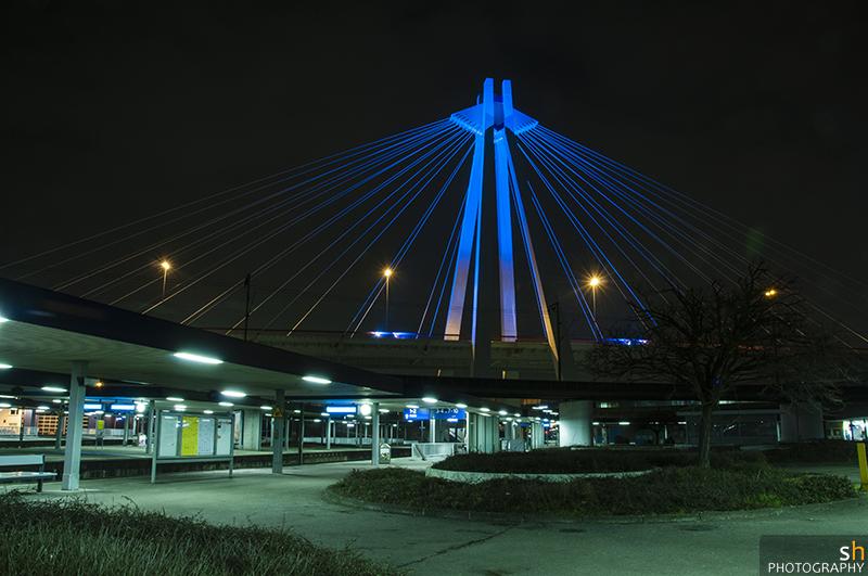 Ludwigshafen bei Nacht (III)