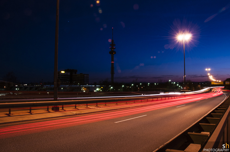 Ludwigshafen bei Nacht (VII)