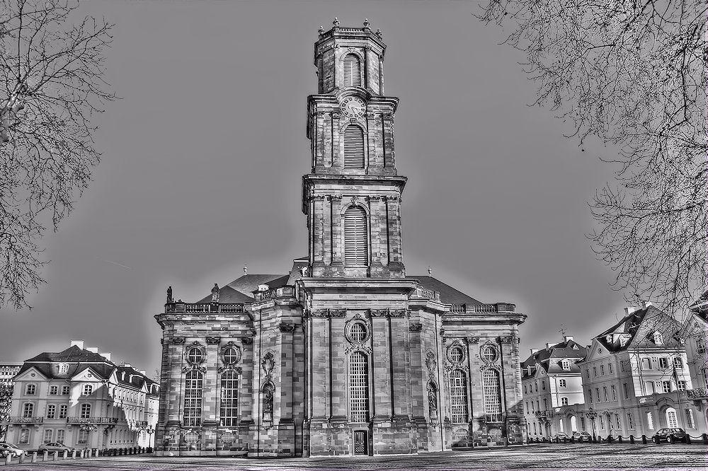Ludwigskirche mal von einer anderen Seite 2 ( SW )