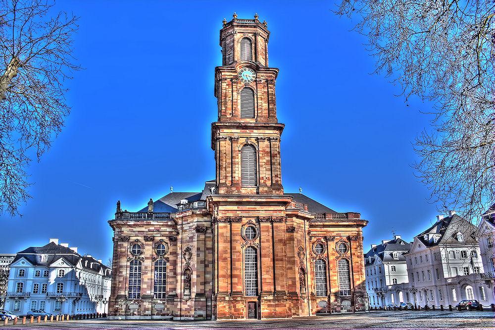 Ludwigskirche mal von einer anderen Seite