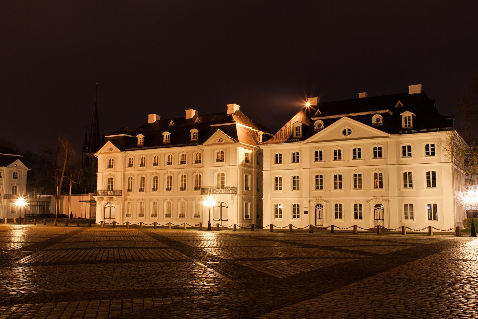 Ludwigsplatz bei Nacht