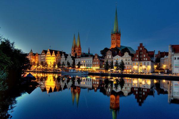 Lübeck als HDR