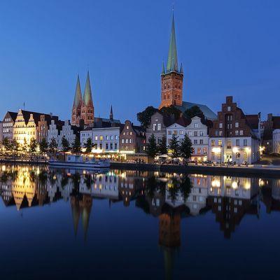 Lübeck als HDR, überarbeitet