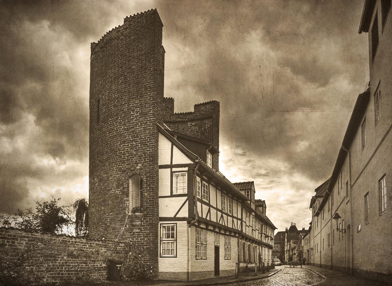Lübeck - Die Altstadt III (old style)