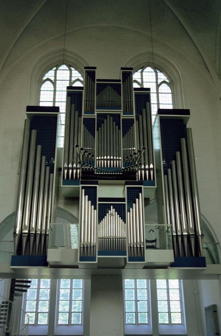 Lübeck, Dom, Hauptorgel