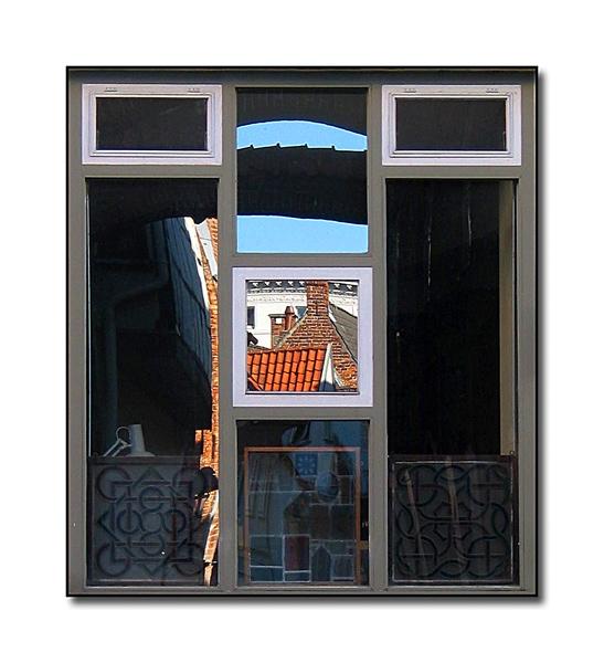 Lübeck - Fensterspiegelung