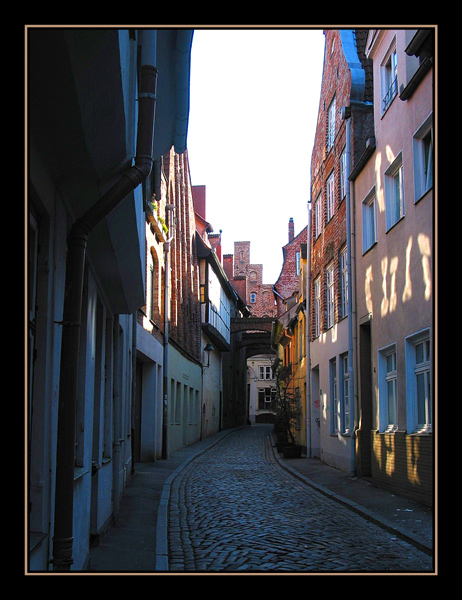 Lübeck - Gerade Querstraße