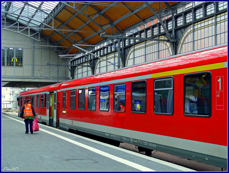 Lübeck Hbf - Alles erledigt