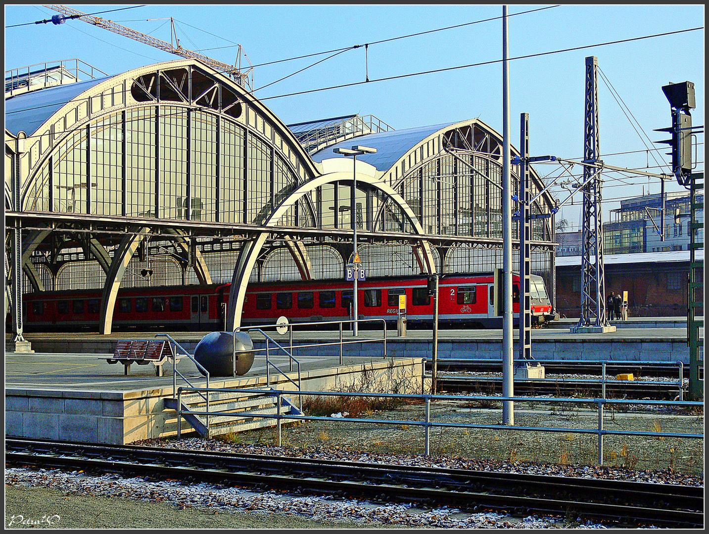 Lübeck Hbf - Außenansicht